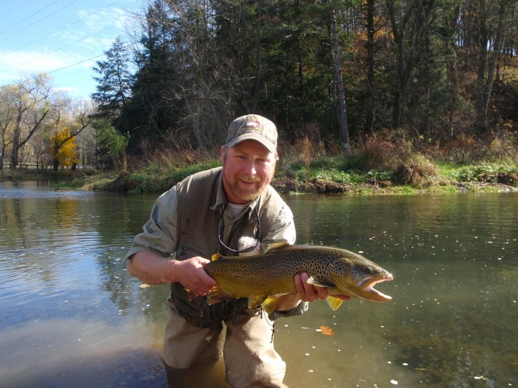Fly fishing guide service ben turpin for Fishing trips in pa