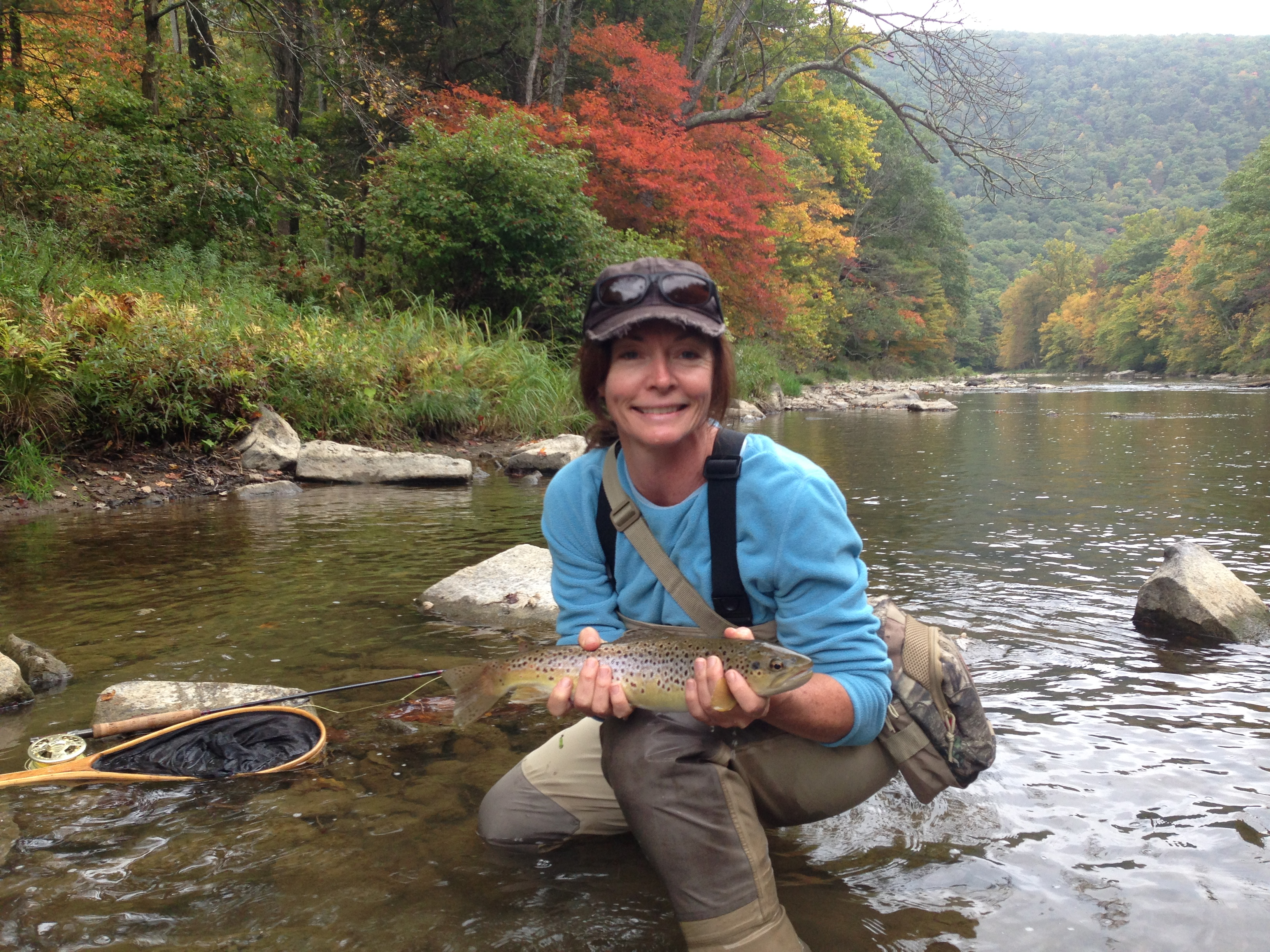 Central pennsylvania ben turpin custom rod building for Fly fishing pa